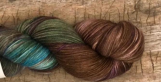 Merino Sock SW 3ply #291 - Boreal