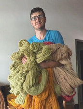 Marco, and a lot of skeins