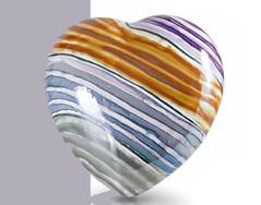 Cuore Verzolini in ceramica n° 71