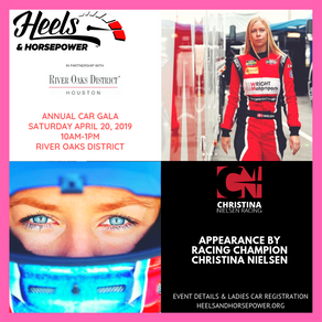 Heels & Horsepower Celebrates its 1 Year Anniversary with River Oaks District Car Gala