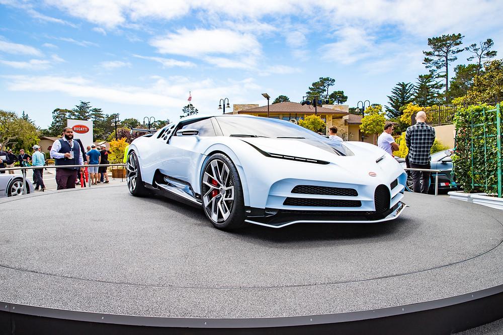 Bugatti Centodieci at private Bugatti party at Pebble Beach