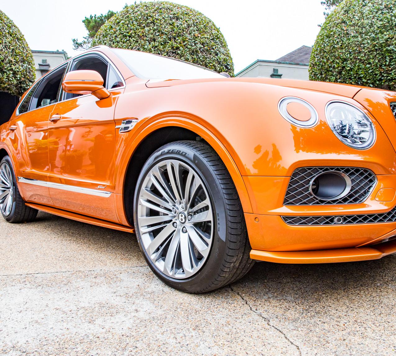 Bentayga Speed at the Bentley House