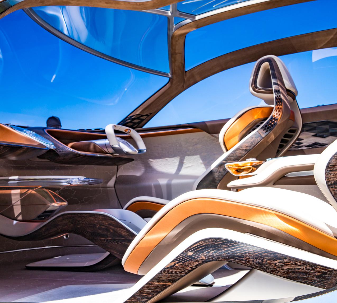 Inside the Bentley EXP100GT