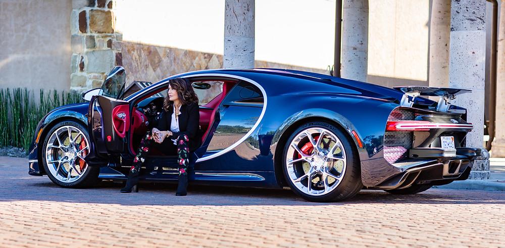 Diane Caplan Bugatti Houston Chiron Post Oak Motor Cars