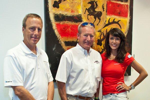 Diane Caplan, Hurley Haywood Porsche