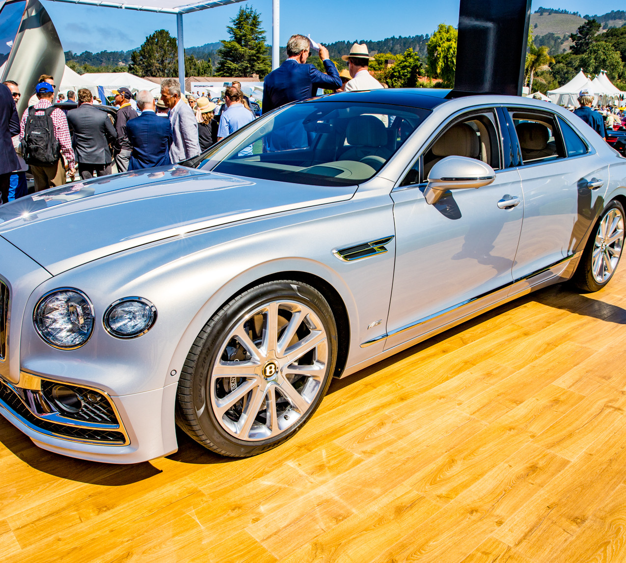All New Bentley Flying Spur at Quail