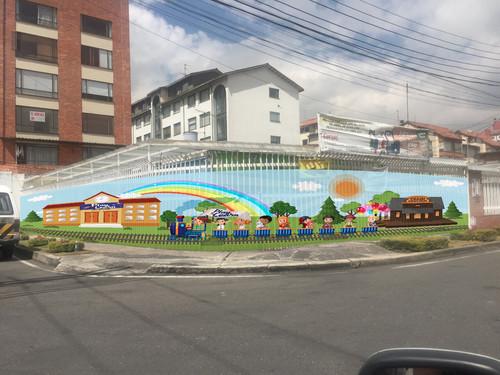 Mural en Tela