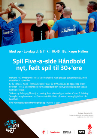 FIVE-A-SIDE HÅNDBOLD