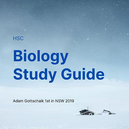 HSC Biology Study Guide by Adam Gottschalk - 1st in NSW for Biology