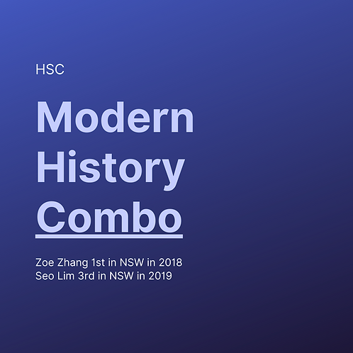 [Combo] HSC Modern History Study Guides