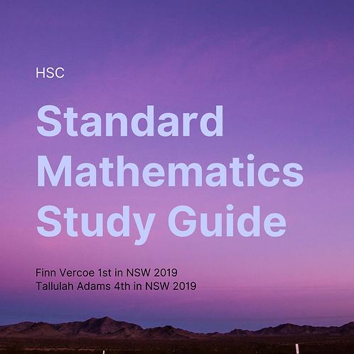 HSC Standard Mathematics Study Guide by Finn Vercoe and Tallulah Adams