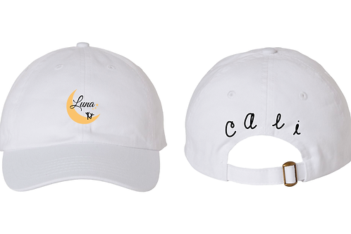Cali in Baseball Hat - 3 Colors Available!