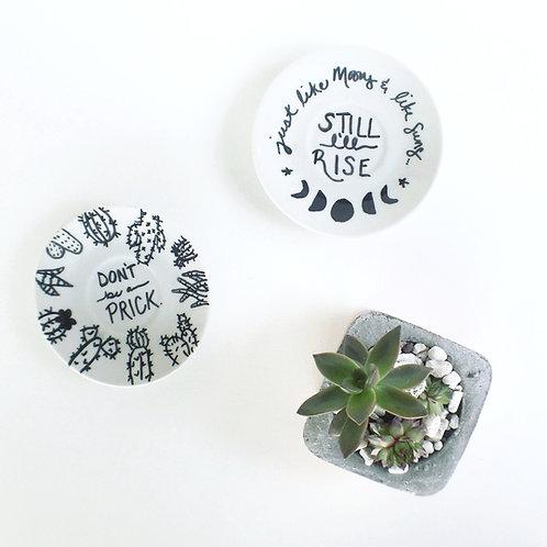 Mini Statement Plates