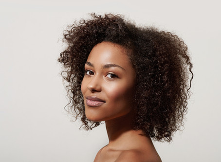 Love your natural hair; Allowing your hair to be chemical free.