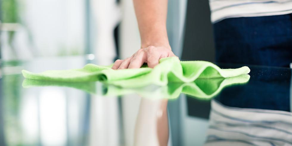 Aufbereitung von Reinigungstextilien