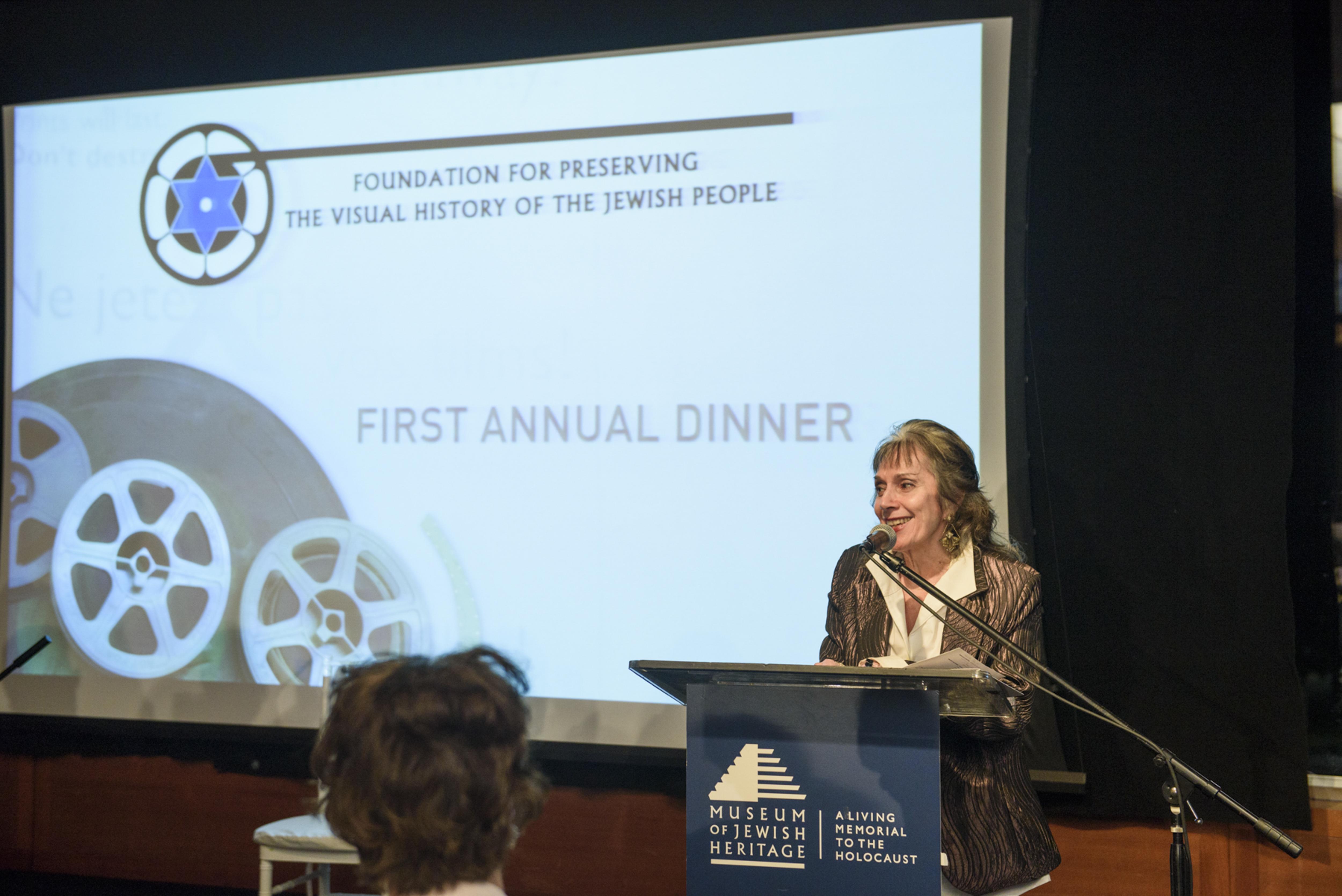 1st Annual Dinner - 256 - Annette Insdorf
