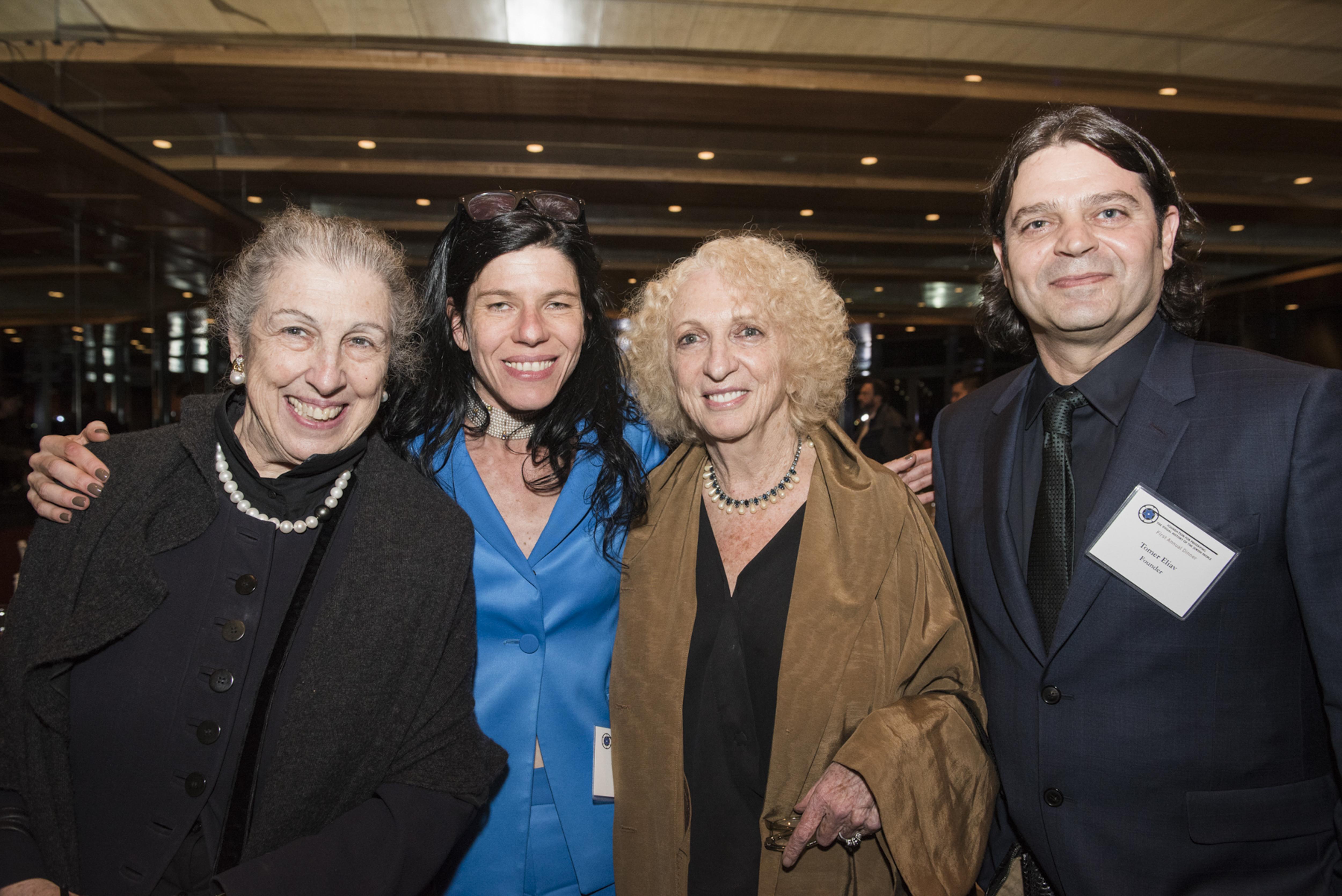 1st Annual Dinner - 305 - Patti Kenner - Vanessa Lapa - Doris Schechter - Tomer Eliav