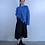 Thumbnail: 草莓刺繡立體牛仔裙