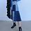 Thumbnail: 立體波浪拼貼牛仔裙