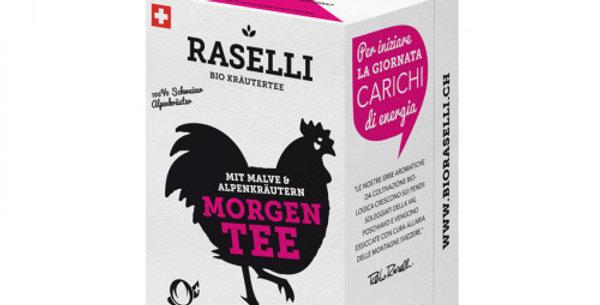 Herbal tea - morning tea from Raselli