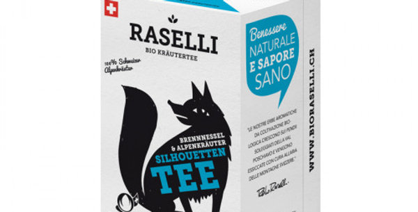 Herbal tea, silhouette tea by Raselli