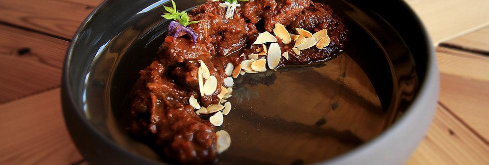 Rindsragout mit Balsamicosauce (Gluten- und Laktosefrei)
