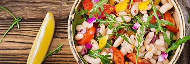 Karibischer Bohnen Salat