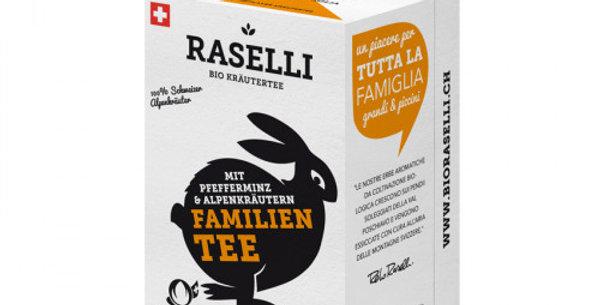 Herbal tea - family tea from Raselli
