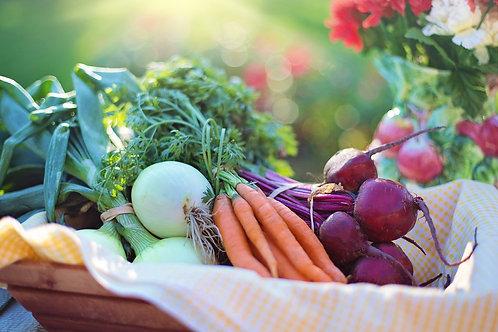 Schweizer Wochen-Gemüse/Obst für 1-2 Personen