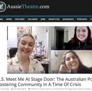 Aussie Theatre Article