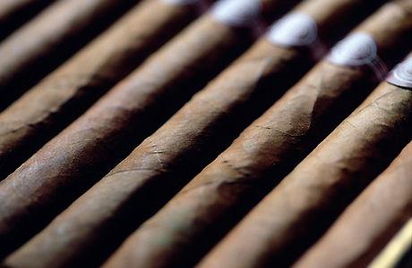 Reihe von Zigarren