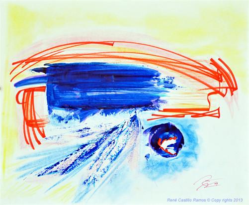 Emotive blue, 2009
