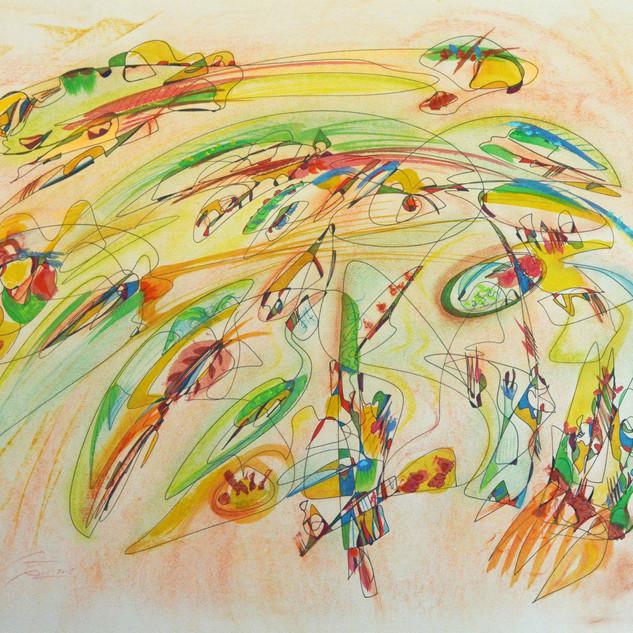 Coloridos danzarines 2015