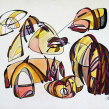 Color drawing 3, 2007
