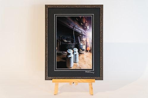 Tissiniva avec cadre 30 x 40 cm