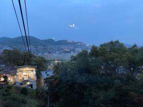 佐稻山山顶眺望世界三大夜景