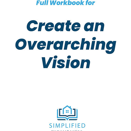 Create an Overarching Vision (Full booklet)