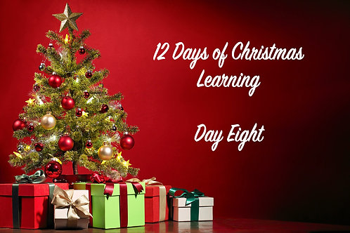 Eighth Day of Christmas Document PDF Download Only