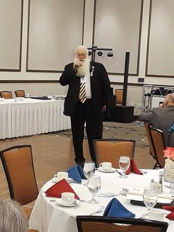 "International Director Blankenship ""Santa"" At convention in Yuma, AZ"