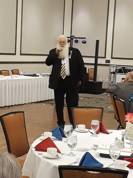 "International Director Blankenship ""Santa"" At convention in Yuma, AZ"