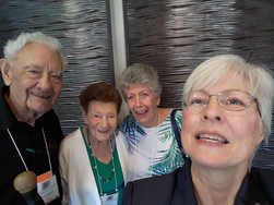 Rick, Marge, Jan, Mary At Convention in Yuma, AZ