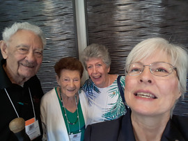 Rick, Marge, Jan, Mary At Convention in Yuma, AZ