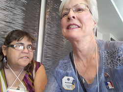Allison Depner and Mary At Convention in Yuma, AZ
