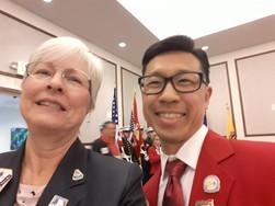 Elbert/Mary At Convention in Yuma, AZ