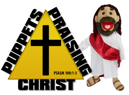 puppets praising Christ logo