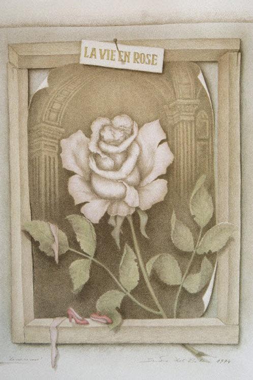 Lithographie: La Vie en Rose Nr. 36/90