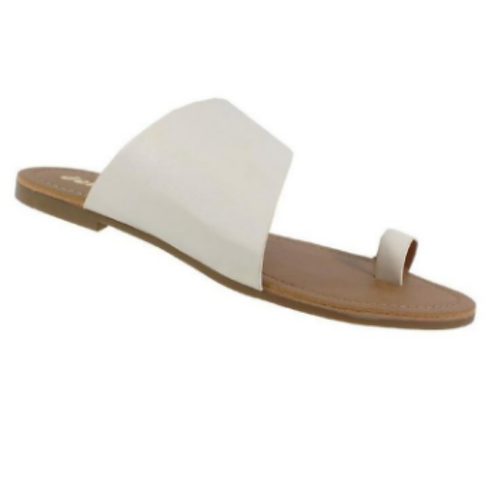 Tally Sandals -White