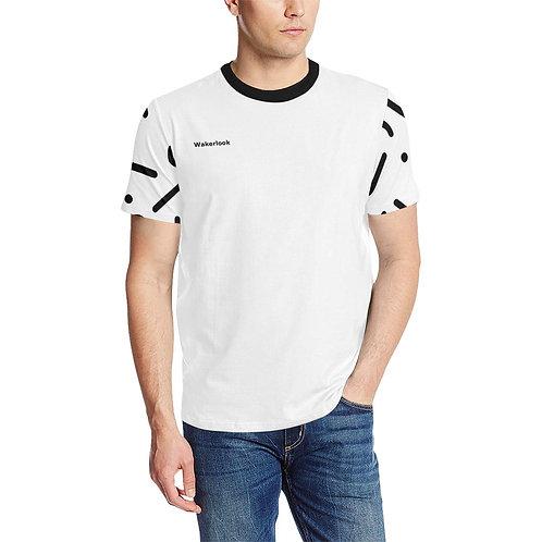 Digital Wakerlook Men's Sleeves Print T-Shirt