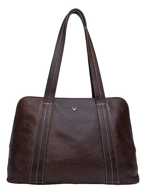 Cerys Leather Multi-Compartment Tote