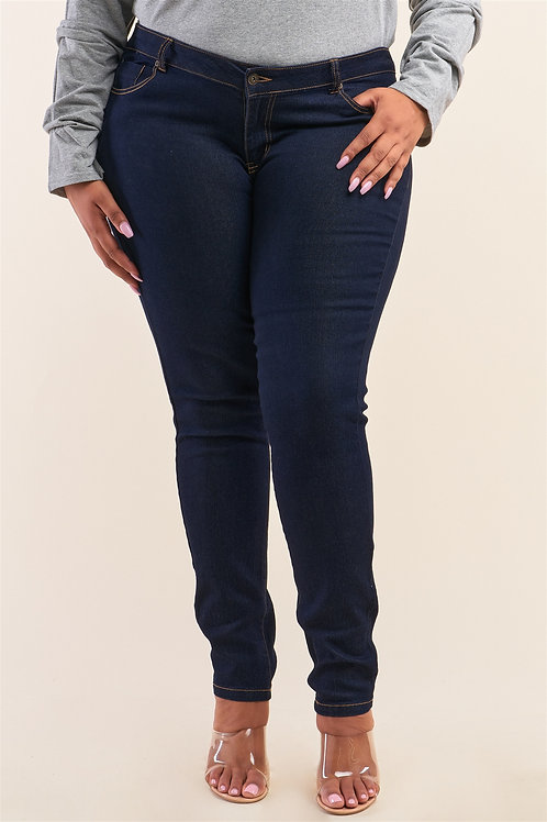 Low-mid Rise Denim
